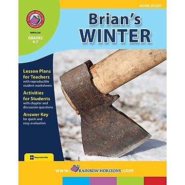 eBook: Brian's Winter - Novel Study, Grades 4-7 (PDF version, 1-User Download), ISBN 978-1-55319-173-5