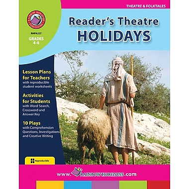 eBook: Reader's Theatre: Holidays, Grades 4-6 (PDF version, 1-User Download), ISBN 978-1-55319-172-8