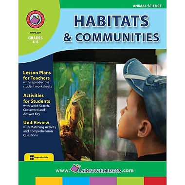 eBook: Habitats & Communities, Grades 4-6 (PDF version, 1-User Download), ISBN 978-1-55319-191-9