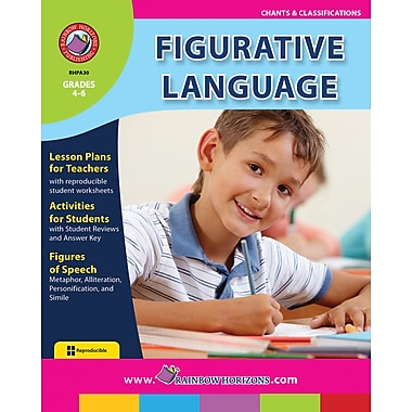 eBook: Figurative Language, Grades 4-6 (PDF version, 1-User Download), ISBN 978-1-55319-454-5