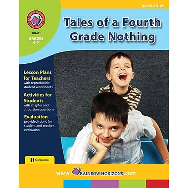 eBook: Tales of a Fourth Grade Nothing - Novel Study, Grades 4-7 (PDF version, 1-User Download)