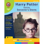 Rainbow Horizons Publishing Textbook Harry Potter and the Sorcerer's Stone (Novel Study), Grade 4-8 (RHPA34)
