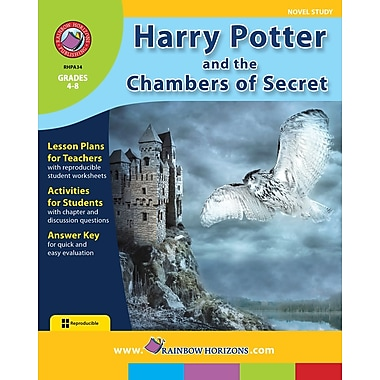 Harry Potter and the Chamber of Secrets - Novel Study, 4e à 8e années, ISBN 978-1-55319-121-6