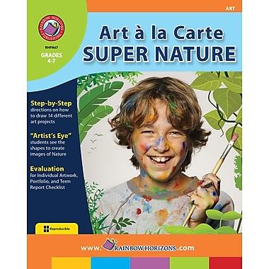 Art A La Carte: Super Nature, anglais, 3e et 4e années, livre num. (téléch. 1 util.), ISBN 978-1-55319-778-2