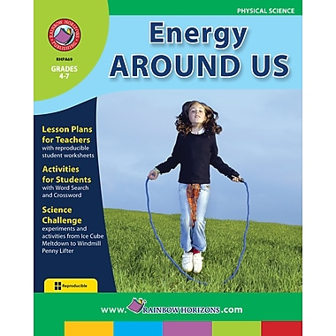 Energy Around Us, Grades 4-7, ISBN 978-1-55319-002-8
