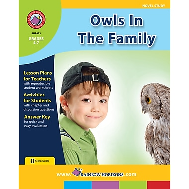 eBook: Owls In The Family - Novel Study, Grades 4-7 (PDF version, 1-User Download), ISBN 978-1-55319-033-2