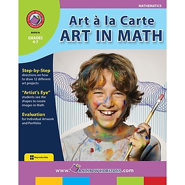 Art A La Carte: Art In Math, Grades 4-7, ISBN 978-1-55319-023-3