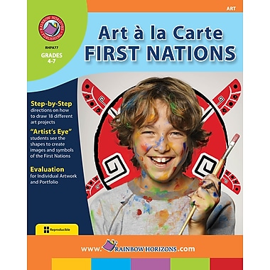 eBook: Art A La Carte: First Nations, Grades 4-7 (PDF version, 1-User Download), ISBN 978-1-55319-024-0