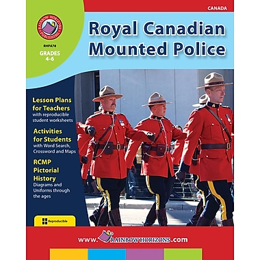 eBook: Royal Canadian Mounted Police, Grades 4-6 (PDF version, 1-User Download), ISBN 978-1-55319-012-7