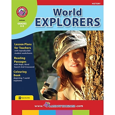 eBook: World Explorers, Grades 4-6 (PDF version, 1-User Download), ISBN 978-1-55319-013-4