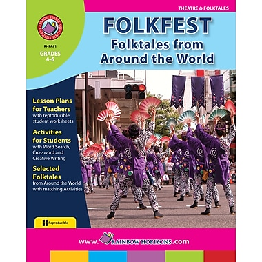 eBook: Folkfest: Folktales From Around The World, Grades 4-6 (PDF version, 1-User Download), ISBN 978-1-55319-059-2