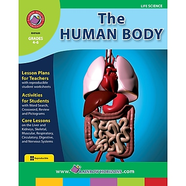 eBook: The Human Body, Grades 4-6 (PDF version, 1-User Download), ISBN 978-1-55319-065-3