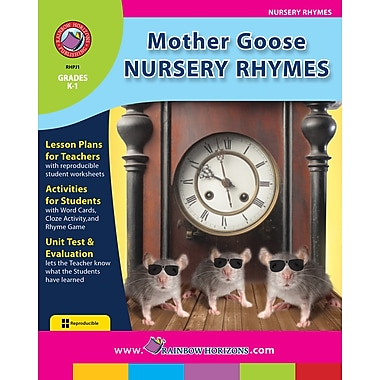 eBook: Mother Goose Nursery Rhymes, Grades K-1 (PDF version, 1-User Download), ISBN 978-1-55319-115-5