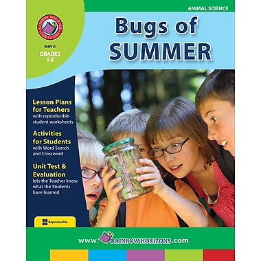 Bugs Of Summer, Grades 1-2, ISBN 978-1-55319-181-0