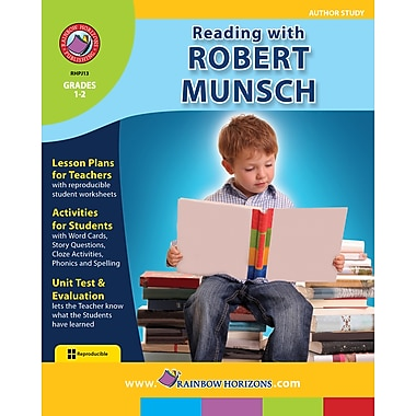 Reading with Robert Munsch - Author Study, anglais, 1re et 2e années, livre num. (téléch. 1 util.), ISBN 978-1-55319-113-1