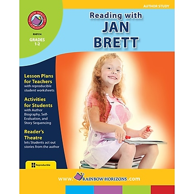 Reading with Jan Brett - Author Study, 1re et 2e années, ISBN 978-1-55319-111-7