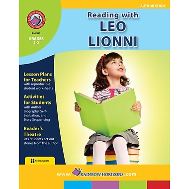 eBook: Reading with Leo Lionni - Author Study, Grades 1-2 (PDF version, 1-User Download), ISBN 978-1-55319-110-0
