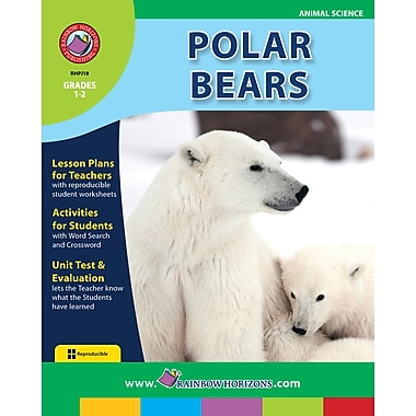 eBook: Polar Bears, Grades 1-2 (PDF version, 1-User Download), ISBN 978-1-55319-189-6