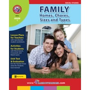 Family: Homes, Chores, Sizes & Types, 1re année, ISBN 978-1-55319-145-2