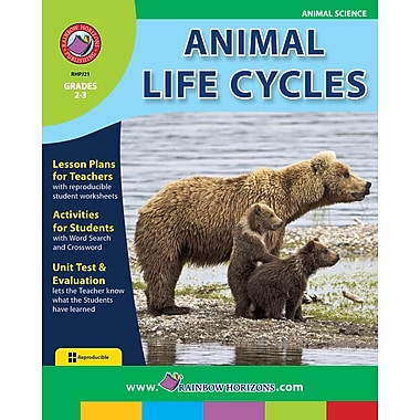 eBook: Animal Life Cycles, Grades 2-3 (PDF version, 1-User Download), ISBN 978-1-55319-123-0