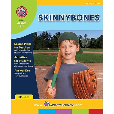 Skinnybones - Novel Study, Grades 3-4, ISBN 978-1-55319-041-7