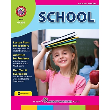 eBook: School, Grade 1 (PDF version, 1-User Download), ISBN 978-1-55319-135-3
