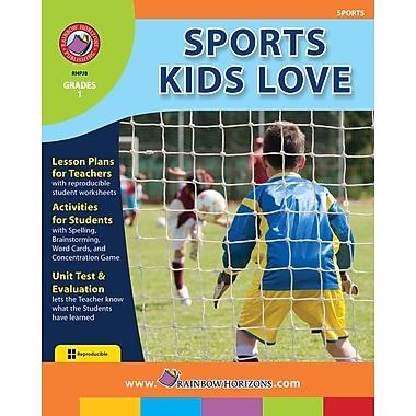 Sports Kids Love, anglais, 1re année, livre num. (téléch. 1 util.), ISBN 978-1-55319-114-8