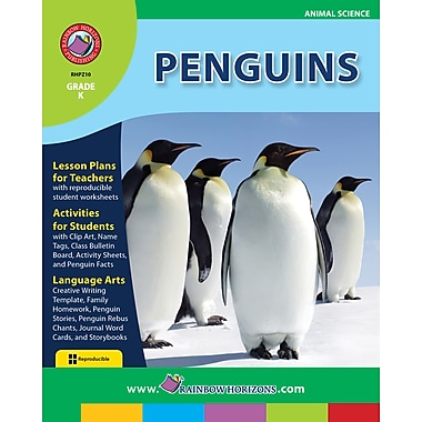eBook: Penguins, Grade K (PDF version, 1-User Download), ISBN 978-1-55319-151-3