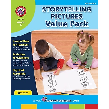 eBook: Storytelling Pictures VALUE PACK, Grade K (PDF version, 1-User Download), ISBN 978-1-55319-302-9