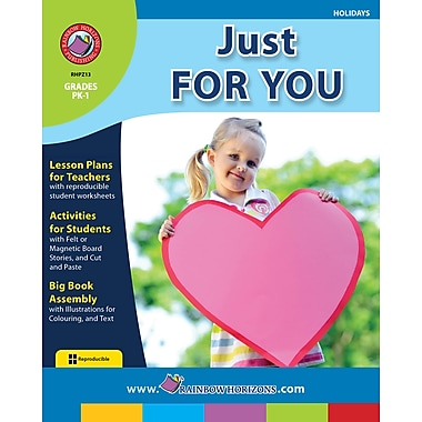 eBook: Just For You, Grades PK-1 (PDF version, 1-User Download), ISBN 978-1-55319-234-3