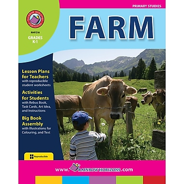 eBook: Farm, Grades K-1 (PDF version, 1-User Download), ISBN 978-1-55319-202-2