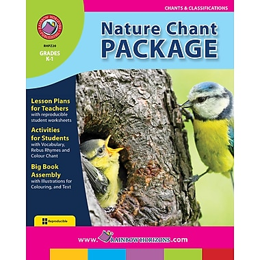 eBook: Nature Chant Package, Grades K-1 (PDF version, 1-User Download), ISBN 978-1-55319-247-3