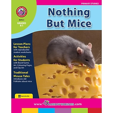 eBook: Nothing But Mice, maternelle à 1re année (téléch. 1 util.), ISBN 978-1-55319-248-0