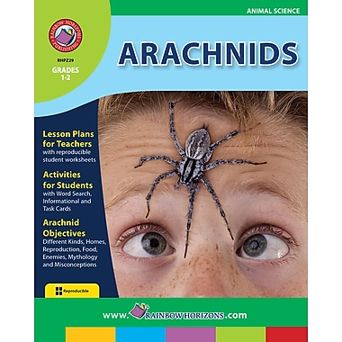 eBook: Arachnids, Grades 1-2 (PDF version, 1-User Download), ISBN 978-1-55319-200-8