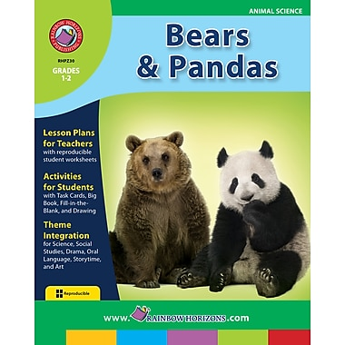 eBook: Bears and Pandas, Grades 1-2 (PDF version, 1-User Download), ISBN 978-1-55319-206-0
