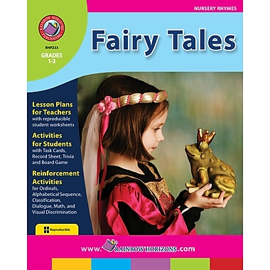 eBook: Fairy Tales, Grades 1-2 (PDF version, 1-User Download), ISBN 978-1-55319-221-3