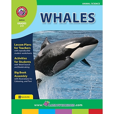 eBook: Whales, Grades 2-3 (PDF version, 1-User Download), ISBN 978-1-55319-274-9