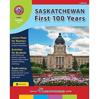 eBook: Saskatchewan: First 100 Years, Grades K-2 (PDF version, 1-User Download), ISBN 978-1-55319-178-0