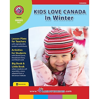 eBook: Kids Love Canada: In Winter, Grades K-2 (PDF version, 1-User Download), ISBN 978-1-55319-277-0
