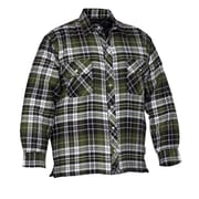 Forcefield Quilted Flannel Shirts, Green