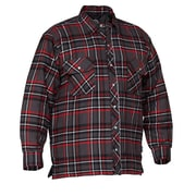 Forcefield Quilted Flannel Shirts, Red