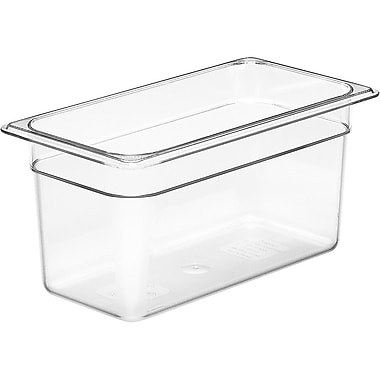 Cambro 42CW135 Gastronorm Fourth Size Pan, Clear, 2-1/2
