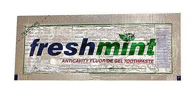 Freshmint® Fluoride Gel Toothpaste Sachet