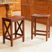 Home Loft Concepts Nigel 24'' Bar Stool (Set of 2)