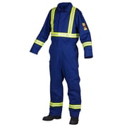 Forcefield Flame Resistant 100% Cotton Coverall, Royal Blue, Tall