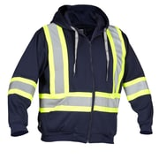 Forcefield Deluxe Safety Hooodie, Navy