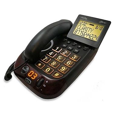 Clarity – Combiné téléphonique filaire numérique Alto Plus, avec mode mains libres amplifié, à gros boutons