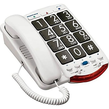 Clarity Amplified Corded Telephone with Talk Back Numbers