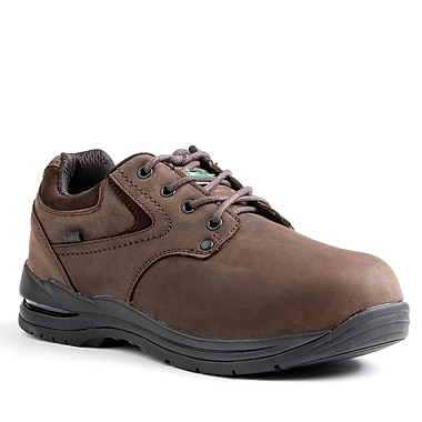 Kodiak Greer Men's Casual Safety Shoe, Brown, Size 10.5