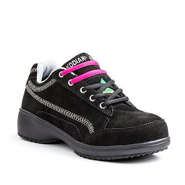 Kodiak Candy Women's Casual Safety Shoe, Black, Size 9.5